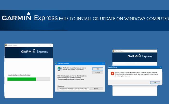 Garmin Express for Windows