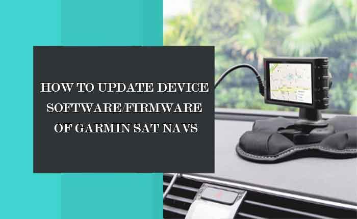 garmin GPS software update
